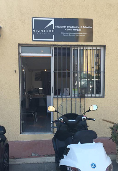 boutique réparation smartphone à Ajaccio - Captain Repair